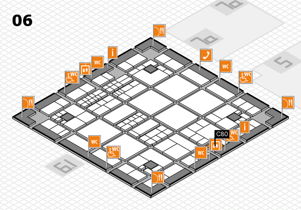 interpack 2017 hall map (Hall 6): stand C80