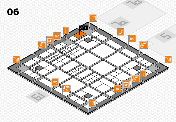 interpack 2017 hall map (Hall 6): stand A01