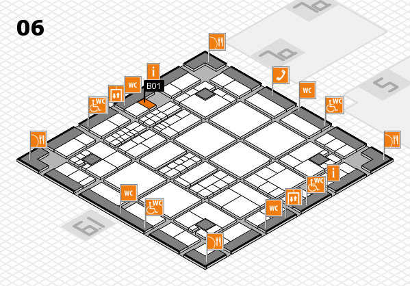interpack 2017 hall map (Hall 6): stand B01