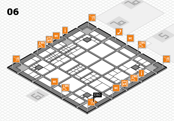 interpack 2017 hall map (Hall 6): stand E80