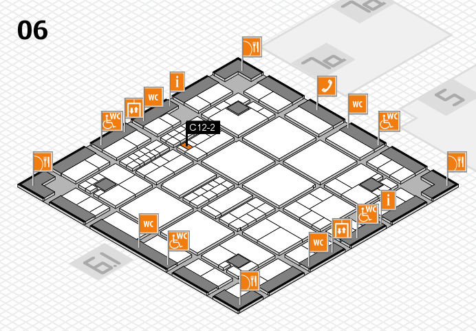 interpack 2017 hall map (Hall 6): stand C12-2