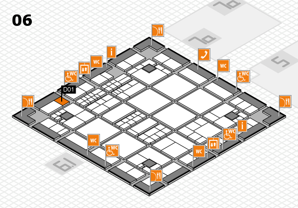 interpack 2017 hall map (Hall 6): stand D01