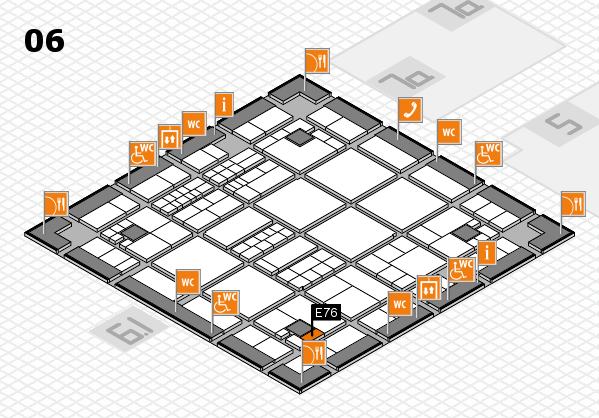 interpack 2017 hall map (Hall 6): stand E76