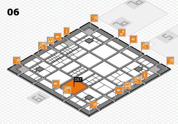 interpack 2017 hall map (Hall 6): stand D57