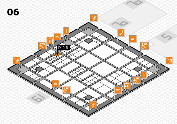 interpack 2017 hall map (Hall 6): stand D10-5