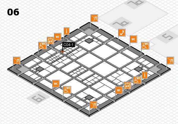 interpack 2017 Hallenplan (Halle 6): Stand C04-1
