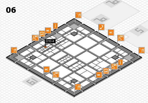 interpack 2017 hall map (Hall 6): stand D10-4