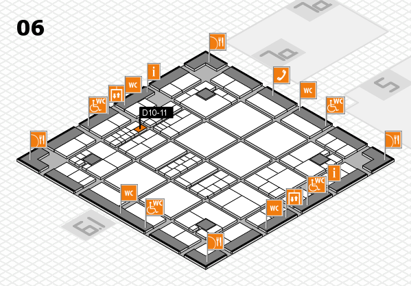 interpack 2017 hall map (Hall 6): stand D10-11