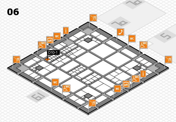 interpack 2017 hall map (Hall 6): stand D10-1