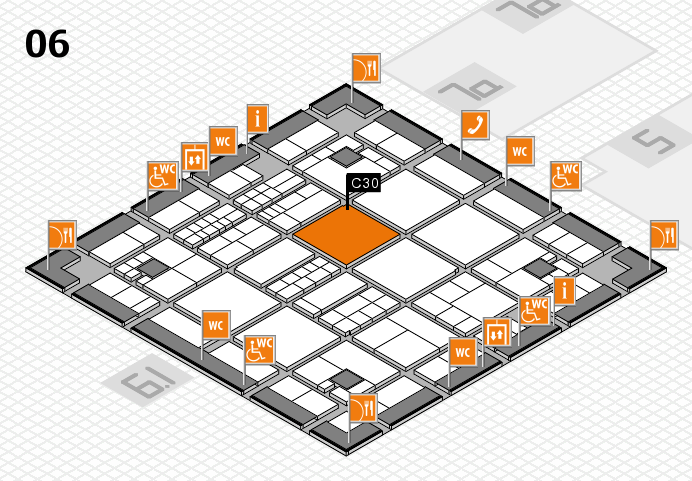 interpack 2017 hall map (Hall 6): stand C30