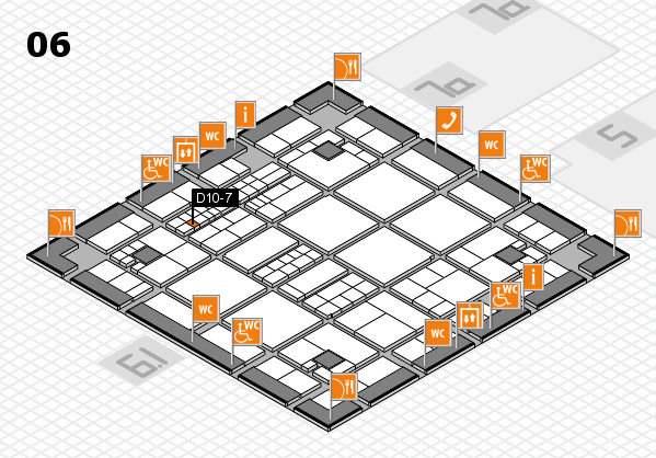 interpack 2017 hall map (Hall 6): stand D10-7