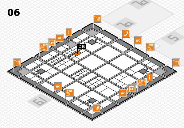 interpack 2017 hall map (Hall 6): stand C16