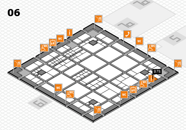interpack 2017 hall map (Hall 6): stand B78