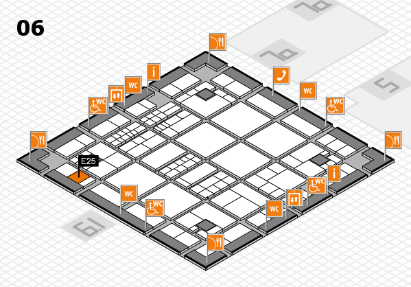 interpack 2017 hall map (Hall 6): stand E25