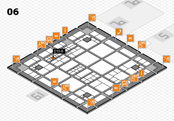 interpack 2017 hall map (Hall 6): stand D10-8