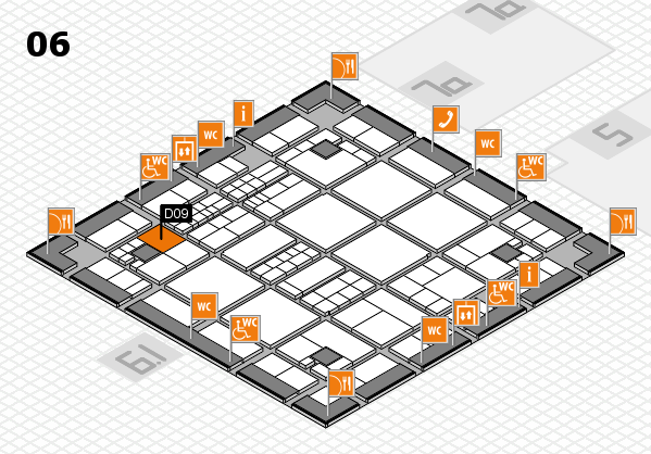 interpack 2017 hall map (Hall 6): stand D09
