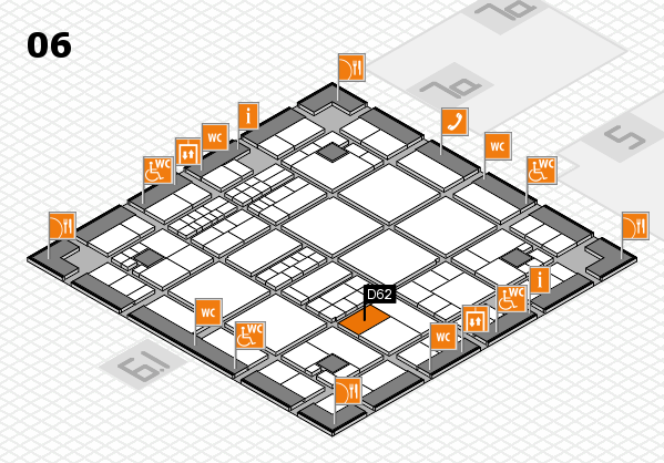 interpack 2017 hall map (Hall 6): stand D62