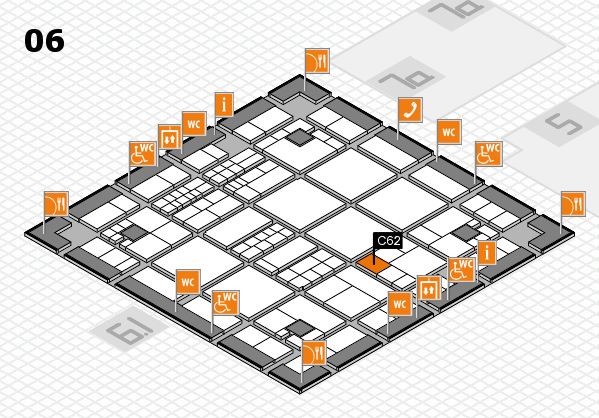 interpack 2017 hall map (Hall 6): stand C62