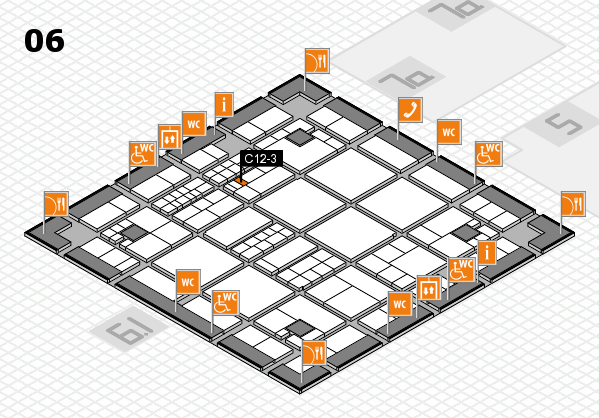 interpack 2017 hall map (Hall 6): stand C12-3