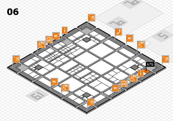 interpack 2017 hall map (Hall 6): stand A79