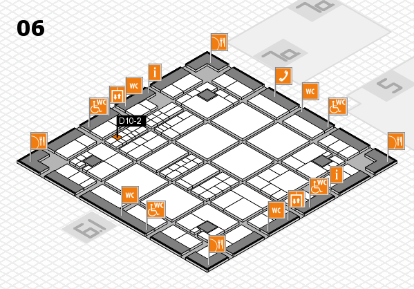 interpack 2017 hall map (Hall 6): stand D10-2