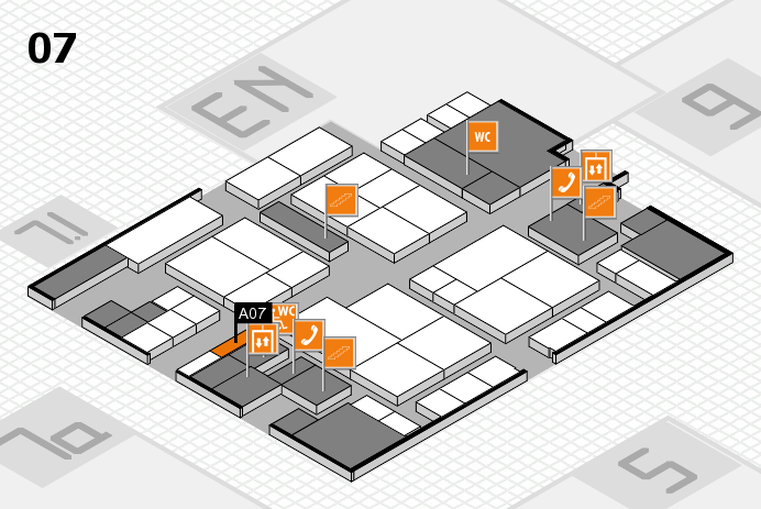 interpack 2017 hall map (Hall 7): stand A07