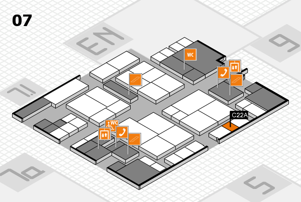 interpack 2017 hall map (Hall 7): stand C22A