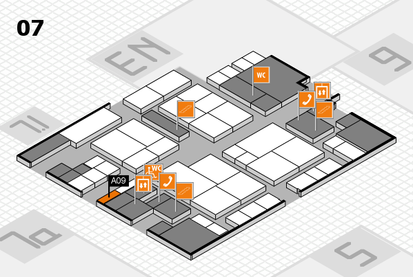 interpack 2017 hall map (Hall 7): stand A09