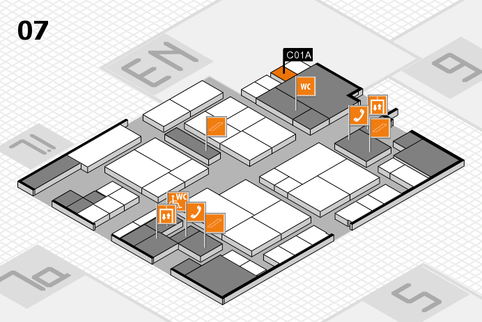 interpack 2017 hall map (Hall 7): stand C01A