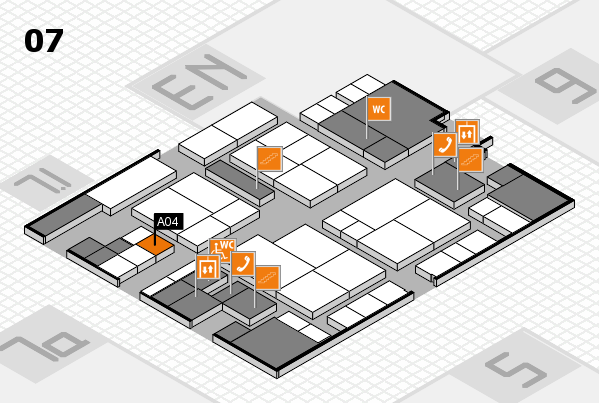 interpack 2017 hall map (Hall 7): stand A04