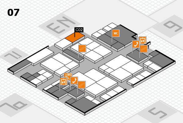 interpack 2017 hall map (Hall 7): stand C02