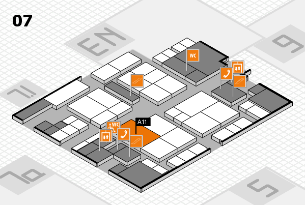 interpack 2017 hall map (Hall 7): stand A11