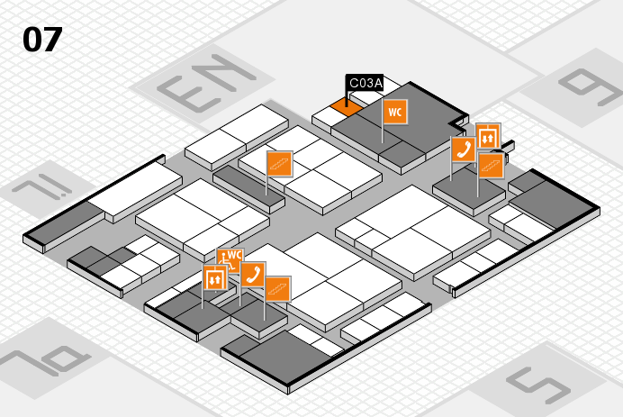 interpack 2017 hall map (Hall 7): stand C03A