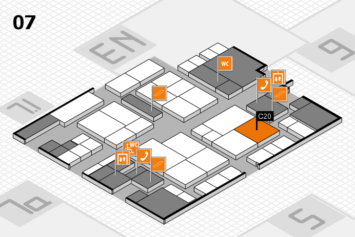 interpack 2017 hall map (Hall 7): stand C20