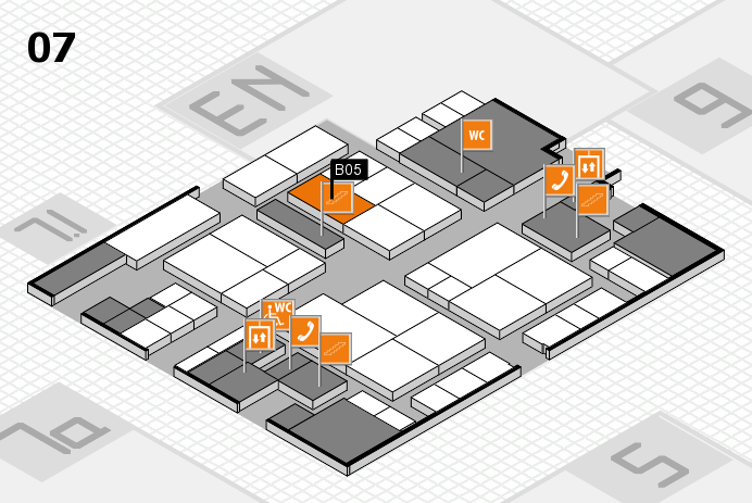 interpack 2017 hall map (Hall 7): stand B05