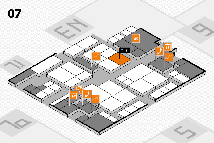 interpack 2017 hall map (Hall 7): stand C10
