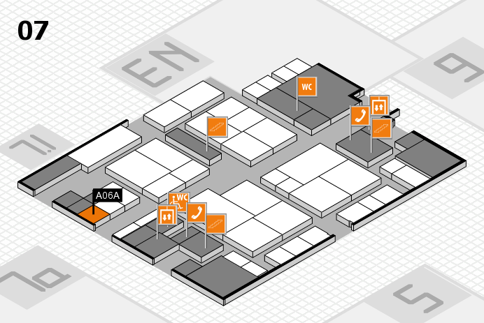 interpack 2017 hall map (Hall 7): stand A06A