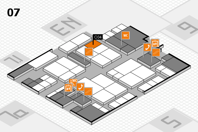 interpack 2017 hall map (Hall 7): stand C04