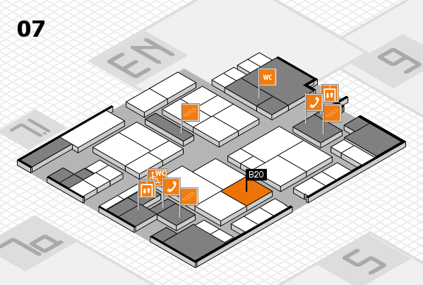 interpack 2017 hall map (Hall 7): stand B20
