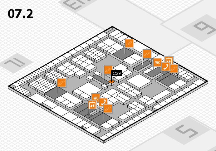 interpack 2017 Hallenplan (Halle 7, Ebene 2): Stand C29