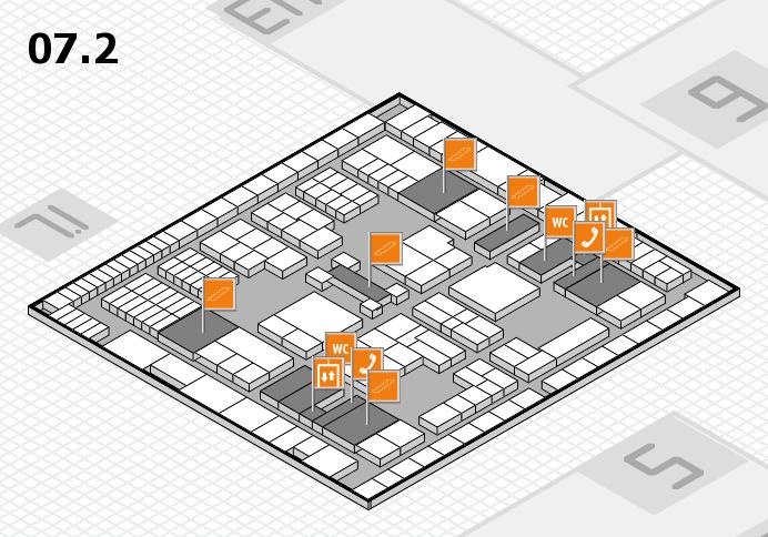 interpack 2017 Hallenplan (Halle 7, Ebene 2): Stand E15