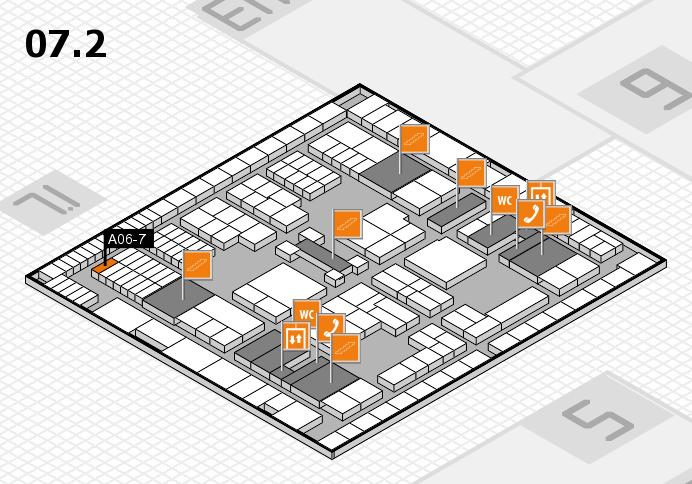 interpack 2017 Hallenplan (Halle 7, Ebene 2): Stand A06-7