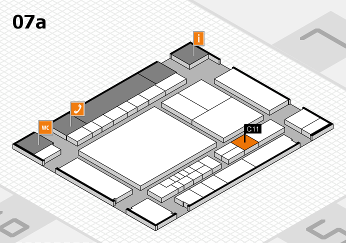 interpack 2017 hall map (Hall 7a): stand C11