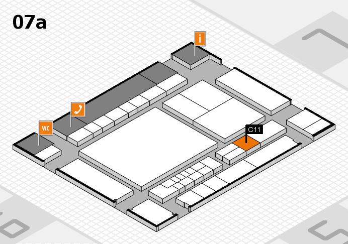 interpack 2017 Hallenplan (Halle 7a): Stand C11