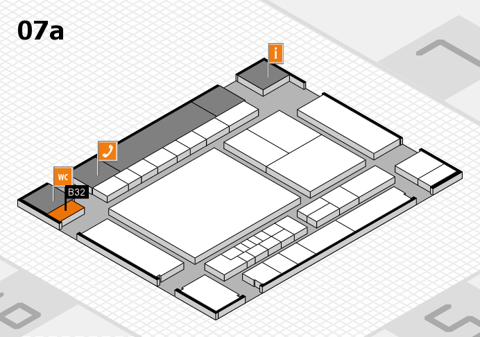 interpack 2017 hall map (Hall 7a): stand B32