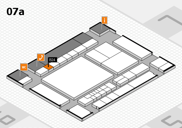 interpack 2017 hall map (Hall 7a): stand B24