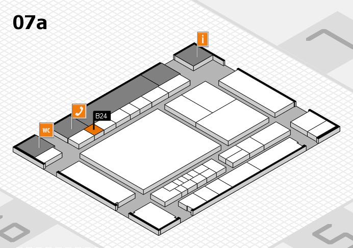 interpack 2017 Hallenplan (Halle 7a): Stand B24