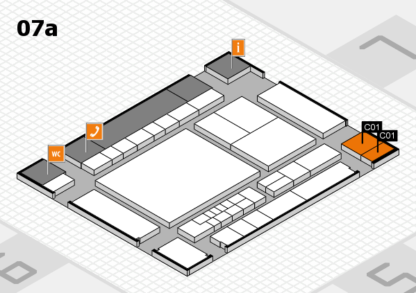 interpack 2017 hall map (Hall 7a): stand C01