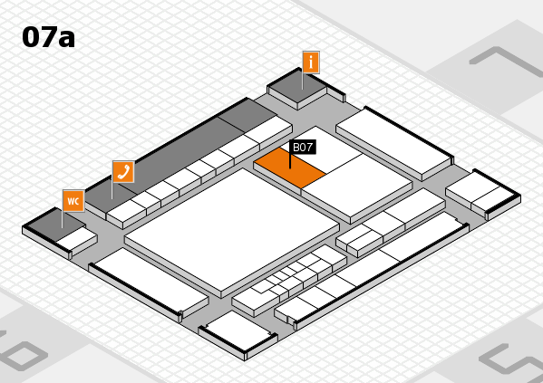 interpack 2017 Hallenplan (Halle 7a): Stand B07