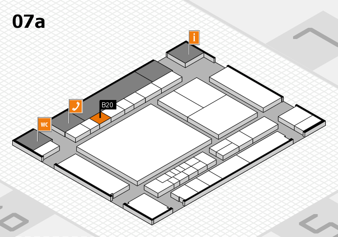 interpack 2017 hall map (Hall 7a): stand B20